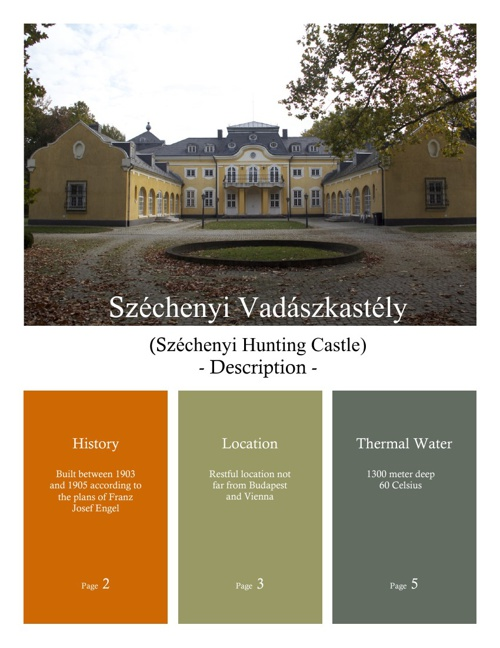 Details of Castle of Szechenyi
