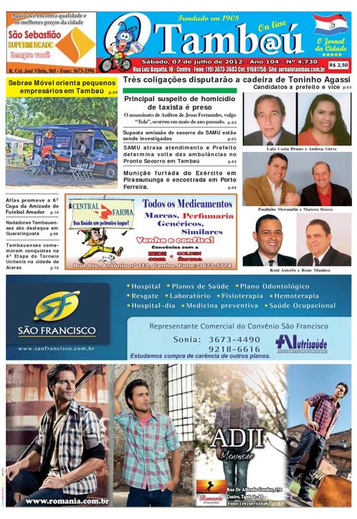 Jornal O Tambaú - Edição 07/07/2012