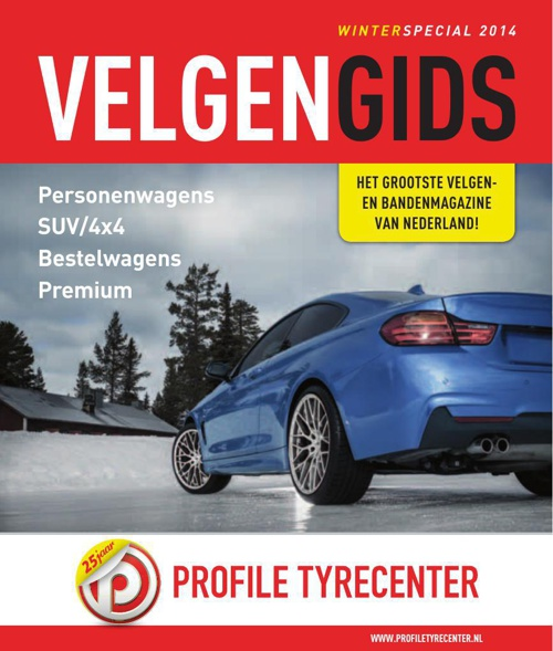 Velgengids Profile Tyrecenter Winter 2014