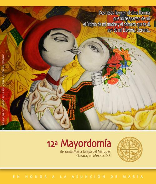 12a. Mayordomía de Jalapa del Marqués, Oax.,en México D.F.