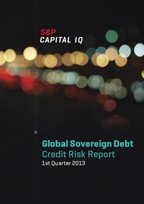 S&P Capital IQ Global Sovereign Credit Risk Report Q1 2013
