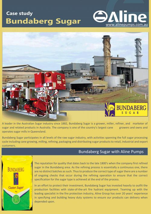 Bundaberg Sugar Case Study - Aline Pumps