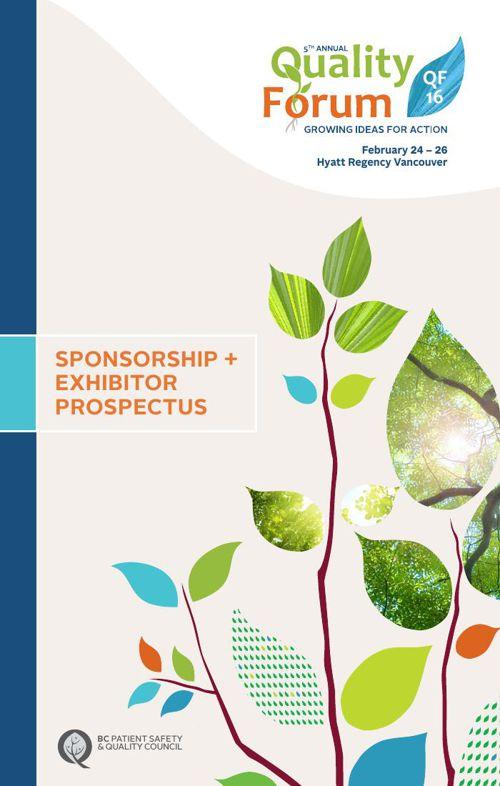 QF16 Sponsorship & Exhibitor Prospectus