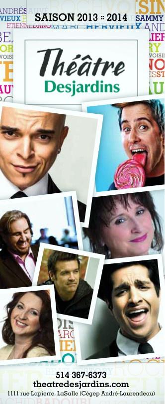 Programme Théâtre Desjardins - Programme 2013-2014