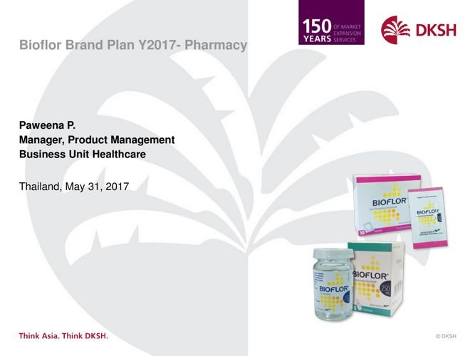 Pharma - Thailand