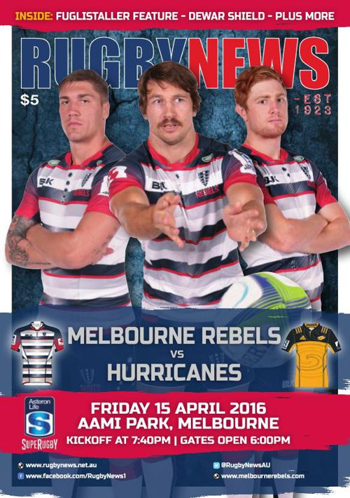 REBELS v HURRICANES MATCH PROGRAM