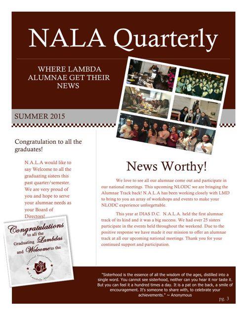 Summer N.A.L.A Newsletter2 015