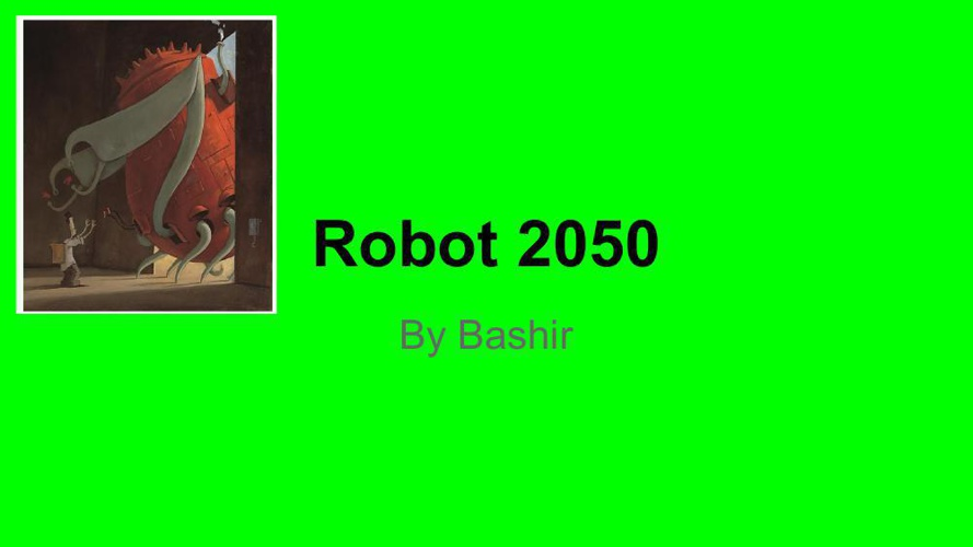 Robot 2050