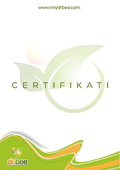 dr. bee certifikati