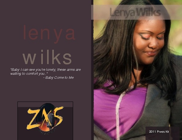 Lenya Wilks Press Kit 2011