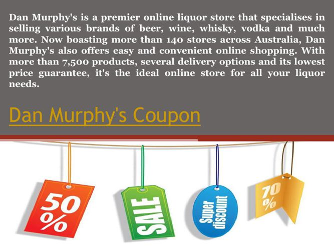 Dan Murphy's Coupon