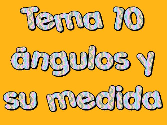 Tema 10 de matemáticas.