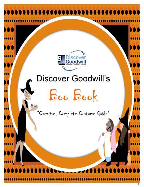 Discover Goodwill Halloween Boo Book