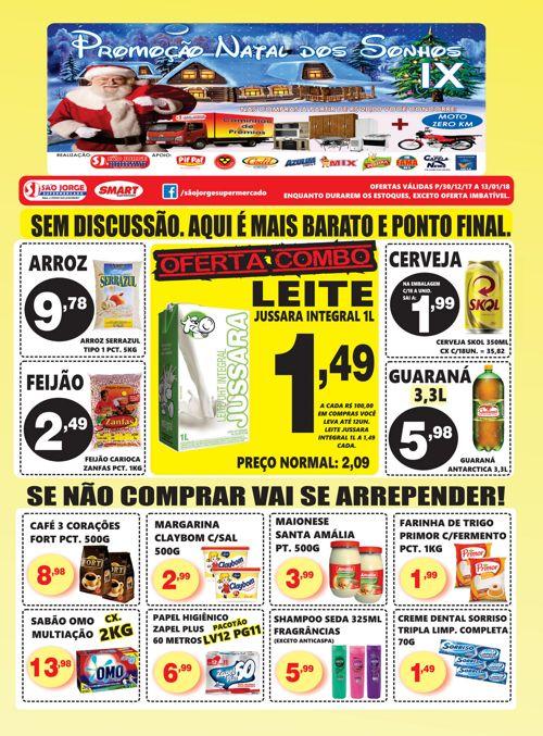 Encarte São Jorge Supermercado