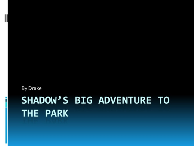Shadows Big Adventure To the Park notebook