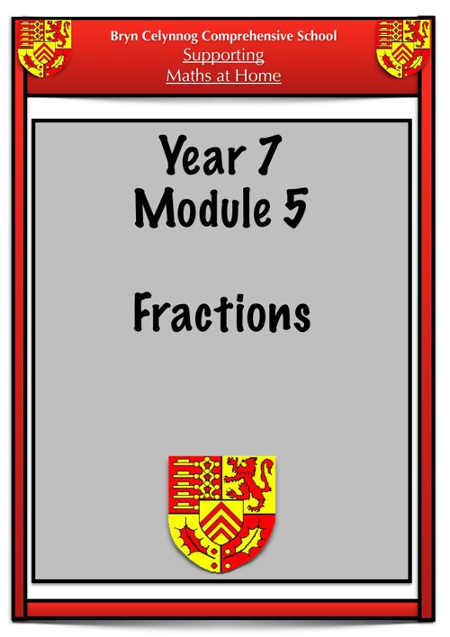 Year 7 Module 5 Booklet