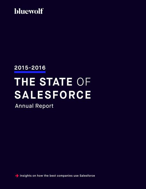 The State of Salesforce 2016