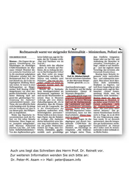 Prof. Dr Reinelt - Rechtsanwalt am Bundesgerichtshof: