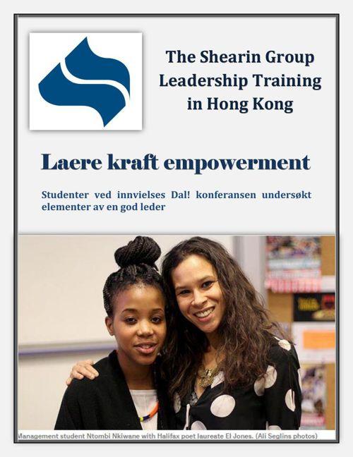 The Shearin Group Leadership Training in Hong Kong - Laere kraft