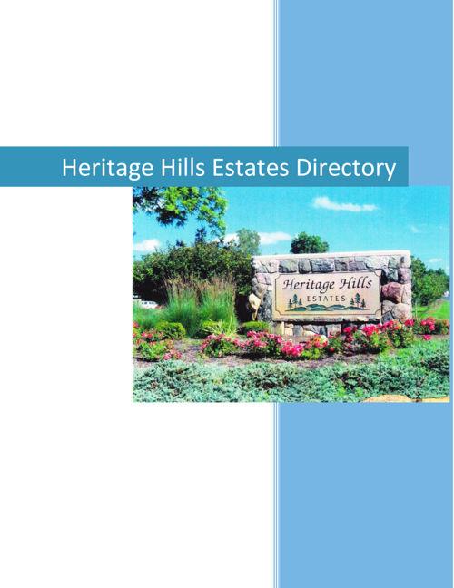 HERITAGE HILLS DIRECTORY