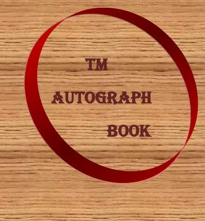 Autograph Book!