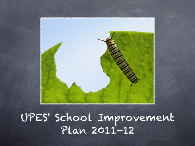School Improvement Plan Presentation