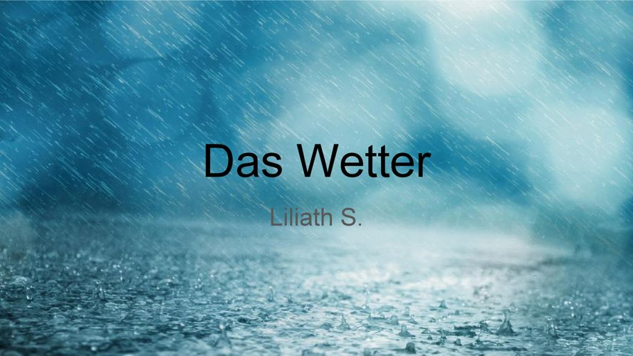 Das_Wetter