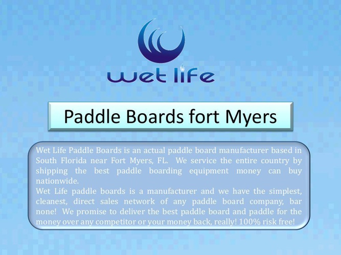 paddle boards fort myers