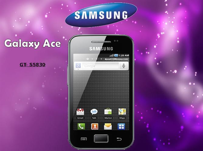Manual Samsung Galaxy Ace