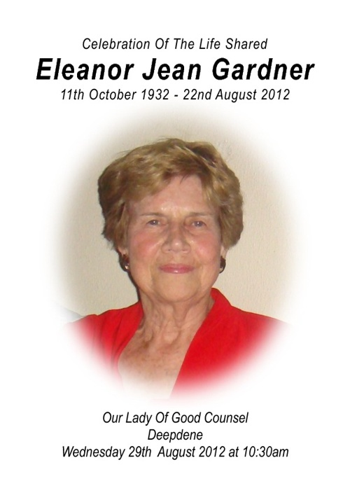 Eleanor Gardner