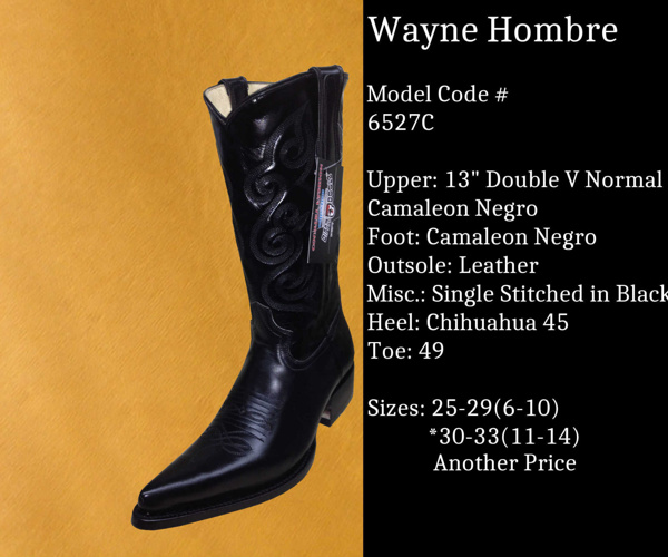 Wayne Hombre by Billy Boots Cowboy Boots