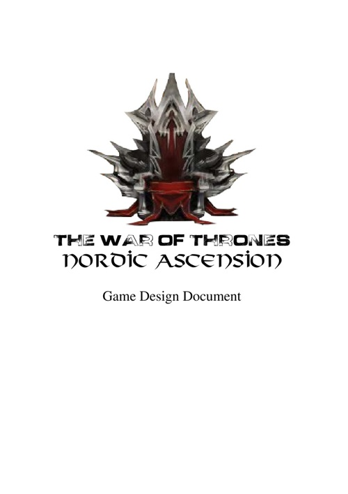 GDD The War of Thrones: Nordic Acension