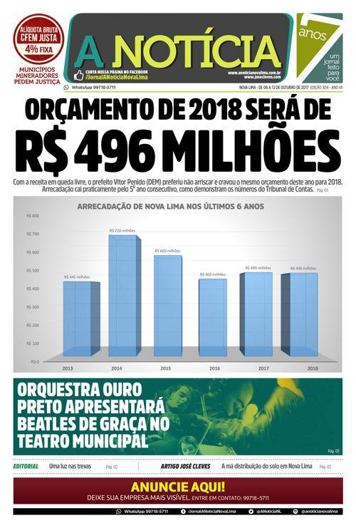Jornal A Notícia - Edição 304