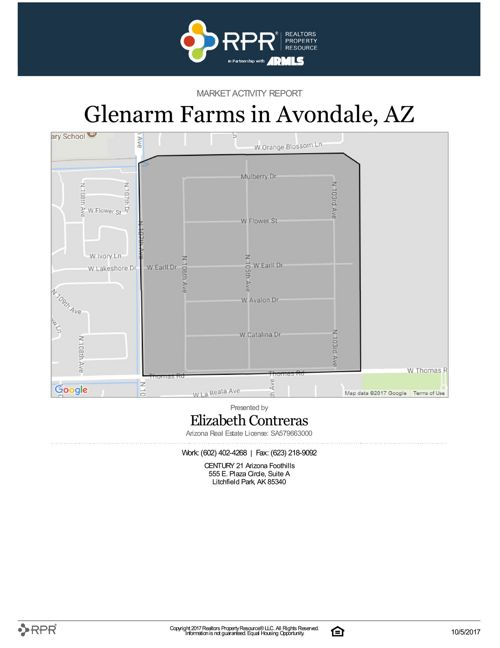 September Glenarm Farms Market Activity
