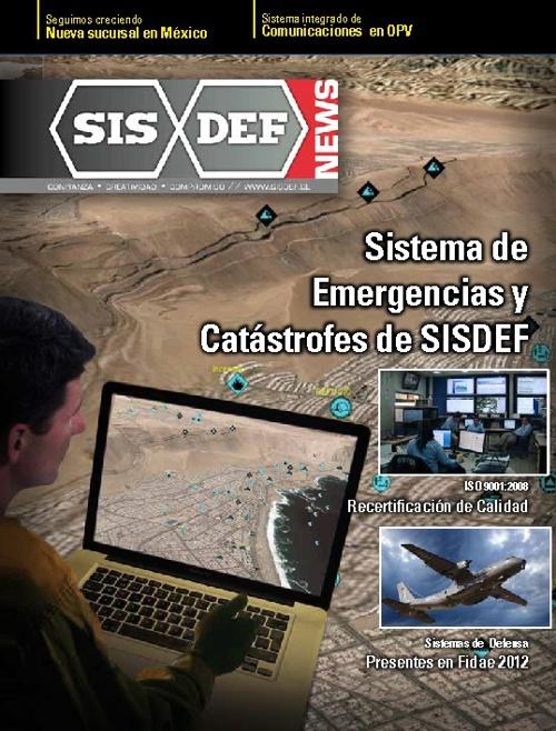 SISDEF News Marzo 2012