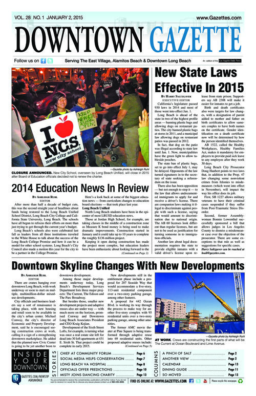Downtown Gazette  |  January 2, 2015