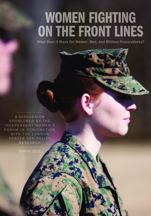 Women Fighting On The Front Lines: What Does It Mean For Women,