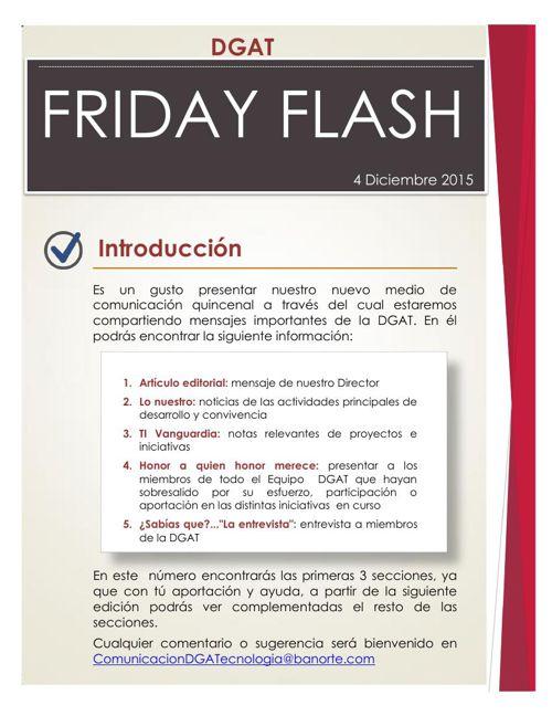 IT Friday Flash