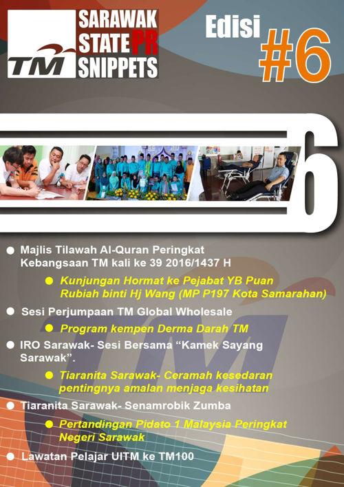 State PR Sarawak Snippets #6
