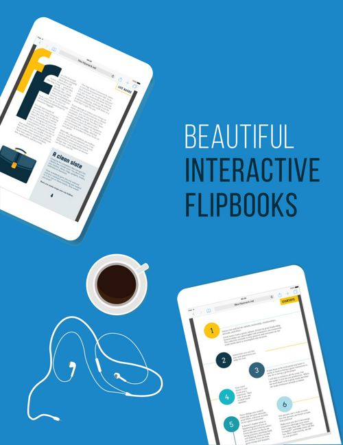 Beautiful Interactive Flipbooks