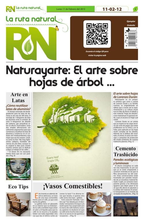 "Periódico ""La Ruta Natural"""