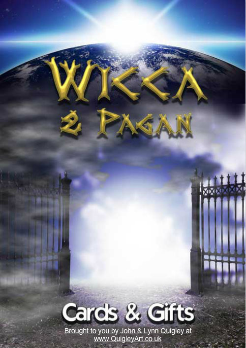 Wicca & Pagan - Greeting Cards and Gifts