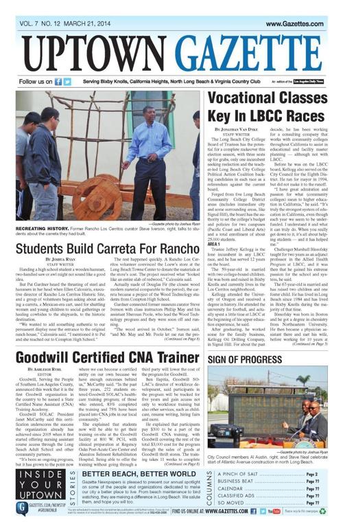 Uptown Gazette 3-21-14