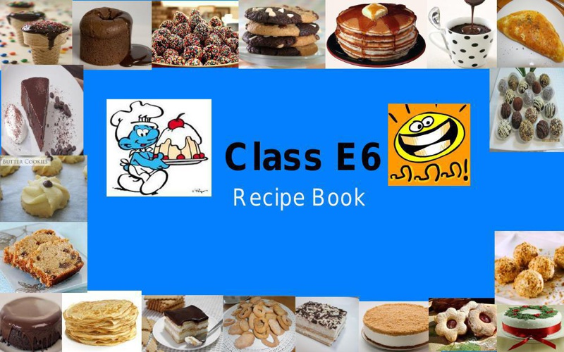 My Class Recipe