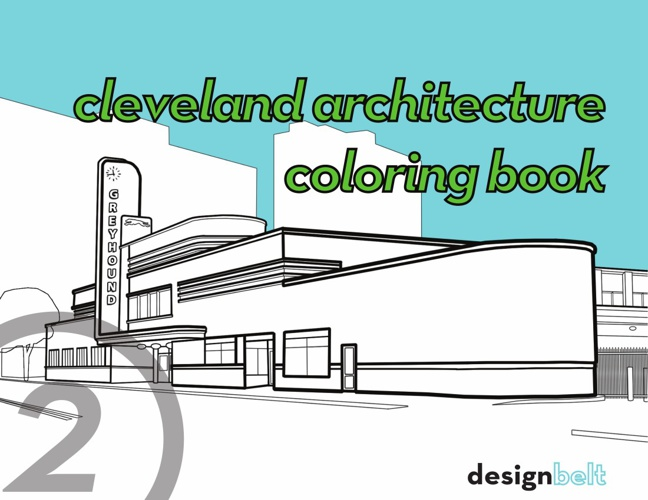 Cleveland Architecture Coloring Book