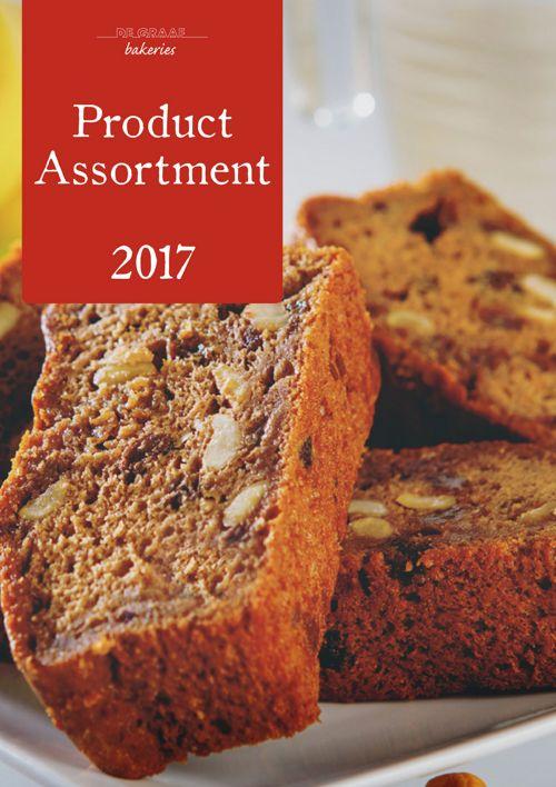 Assortment book 2017 De Graaf Bakeries