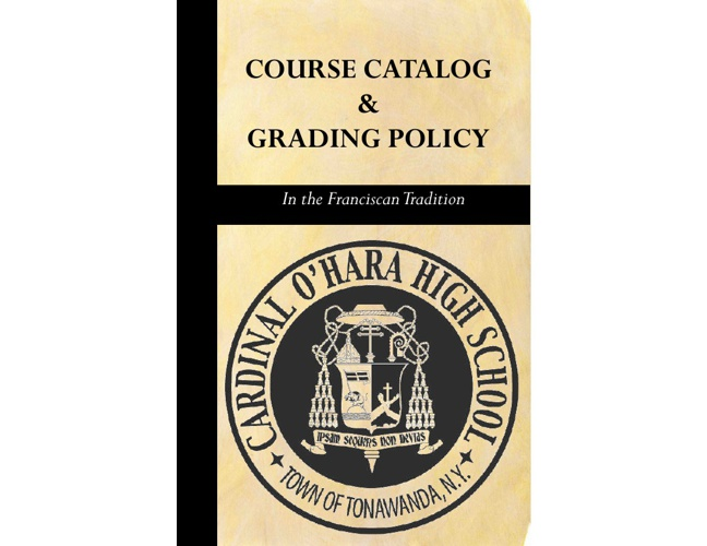 2012 2013 Course Catalog and Grading Policy