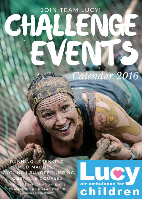 Challenge Events Calendar 2016 - LUCY Air Ambulance