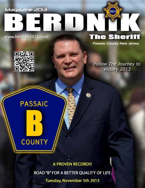 Re-Elect Richard Berdnik for Passaic County Sheriff 2013