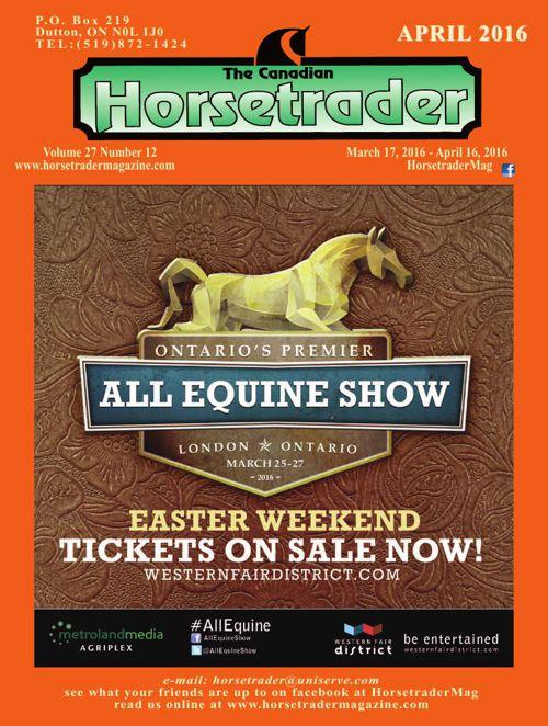 Horse trader Magazine - April 2016
